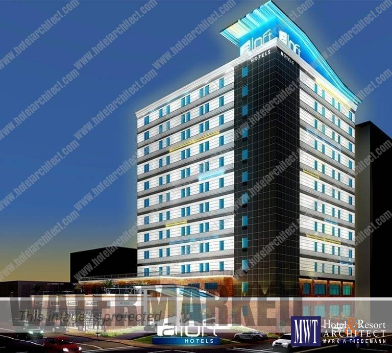 Aloft Hotel, Memphis Tennessee Design